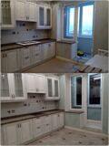 Уборка после ремонта квартиры в Реутове. Очистка кухни и балкона.