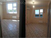 Комната до и после уборки, уборка в Перово