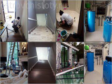 Профессиональная уборка помещений клининговой компанией Остров Чистоты