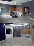 Уборка дома после ремонта. Первый этаж до и после уборки