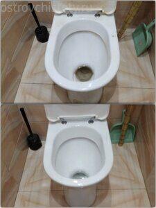 мойка туалета